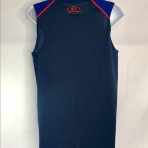 Under Armour Tops - Under Armour V Neck Fitted Heat Gear Top